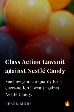 Class Action Lawsuit Nestle Candy